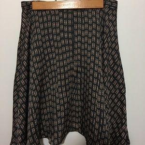LOFT Circle Skirt Size 0